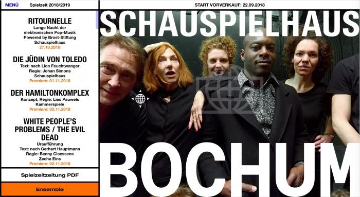 Schauspielhaus Bochum Website