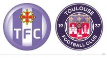 Toulouse FC Logo – vorher und nachher