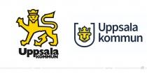 Uppsala Logo – vorher und nachher