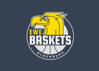EWE Baskets Oldenburg Logo, Quelle: EWE Baskets Oldenburg