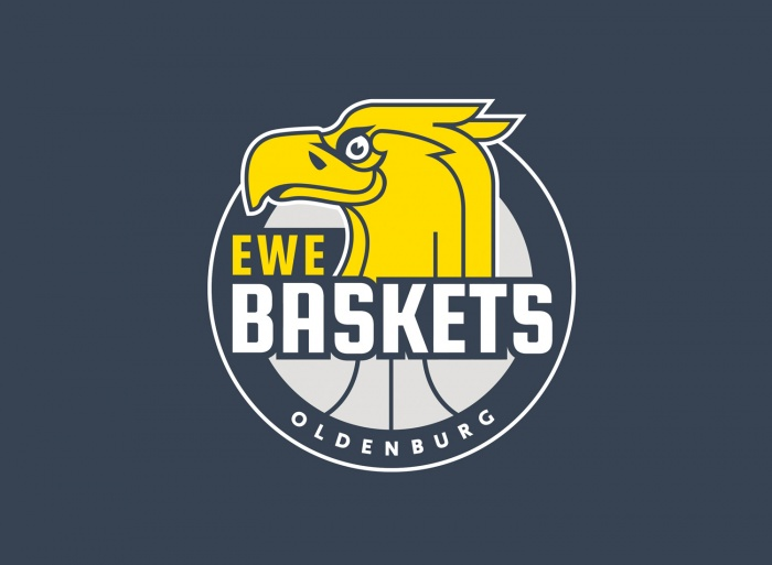 EWE Baskets Oldenburg Logo, Quelle: EWE Baskets Oldenburg