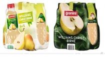Granini Trinkgenuss Verpackungsdesign Birne – vorher und nachher