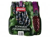 granini Verpackung 6x1l Schwarze Johannisbeere