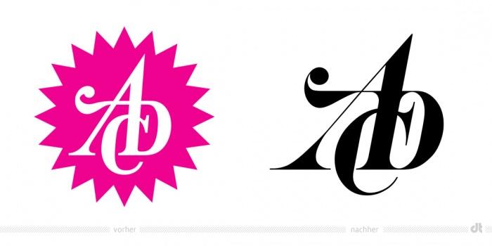 ADC Logo – vorher und nachher