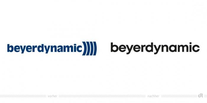 Beyerdynamic Logo – vorher und nachher