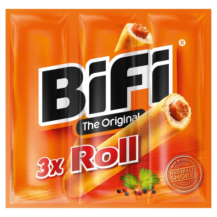 Bifi 3 x Roll, Quelle: Edeka