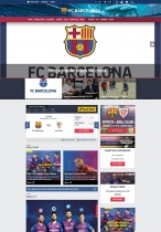 FC Barcelona Website