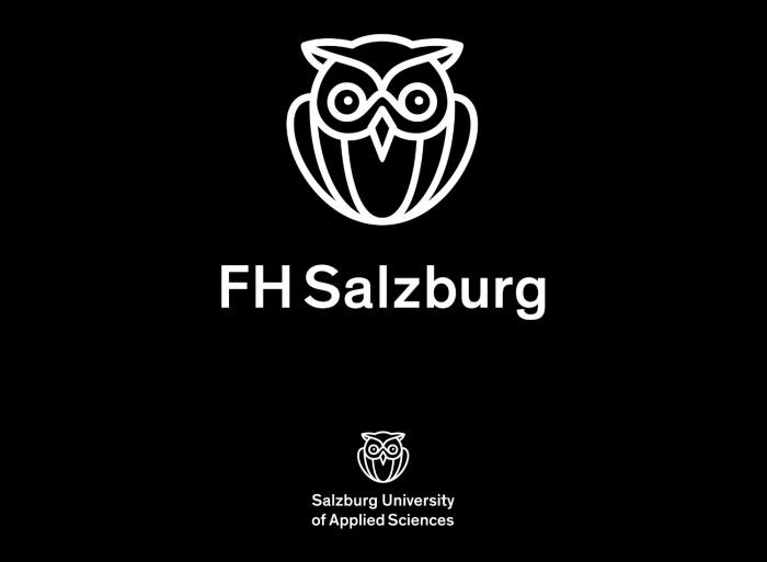 FH Salzburg Logo schwarz