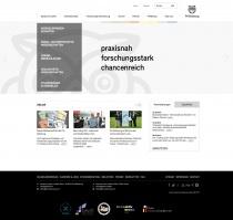 FH Salzburg Website