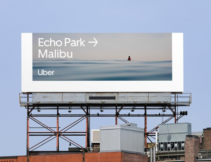 Uber Billboard, Quelle: Uber