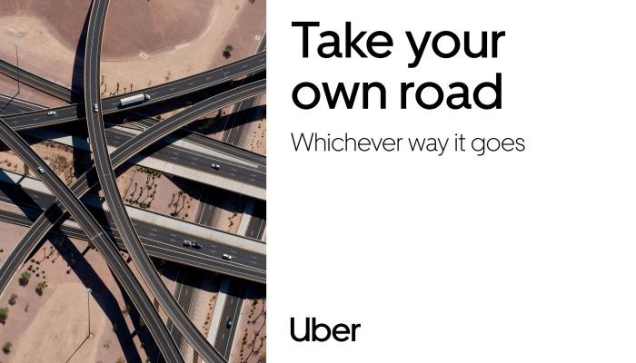 Uber Branding, Quelle: Uber