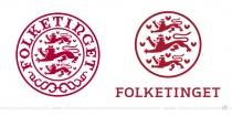 Folketinget Logo – vorher und nachher