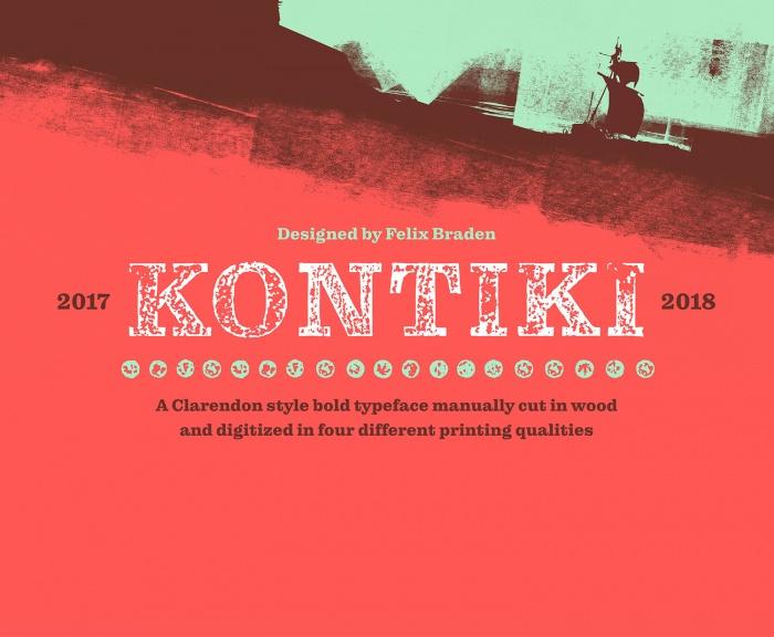 Kontiki Font Cover, Quelle: Felix Braden