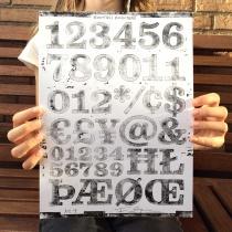 Kontiki Druckplatte Numbers, Quelle: Felix Braden