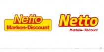 Netto Logo – vorher und nachher