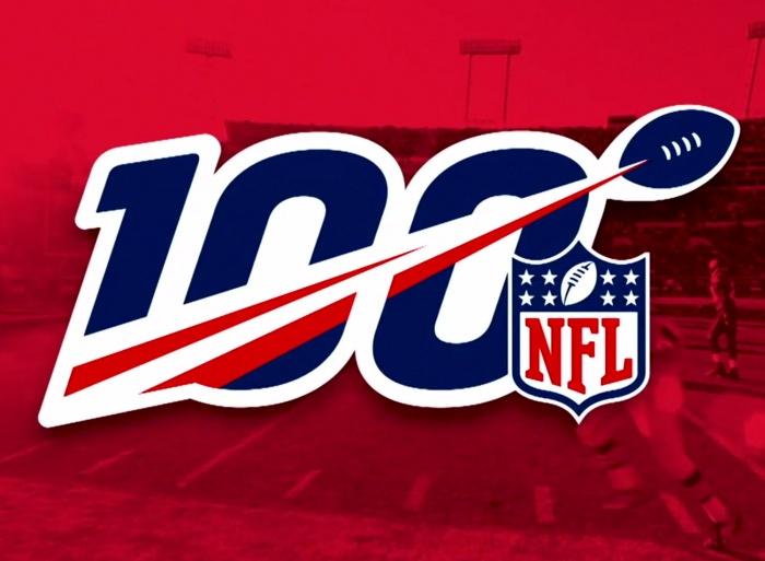 NFL Logo zur 100. Saison, Quelle: NFL