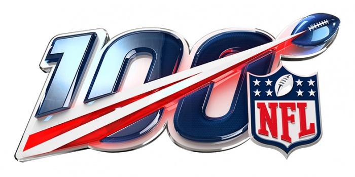 #NFL100 Logo