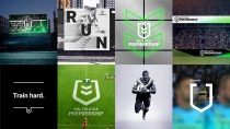 NRL Telstra Premiership Brand Design, Quelle: NRL