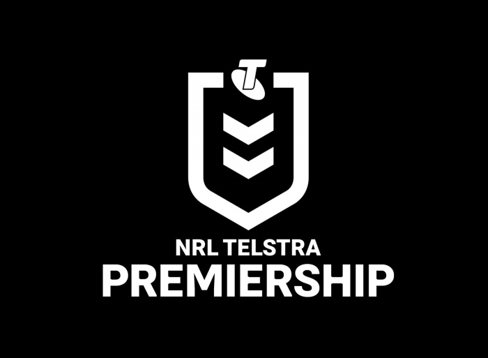 NRL Telstra Premiership Logo, Quelle: NRL