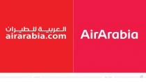 Air Arabia Logo – vorher und nachher
