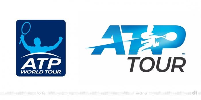 ATP Tour Logo – vorher und nachher