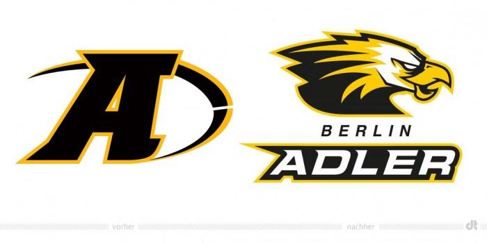 Berlin Adler Logo – vorher und nachher