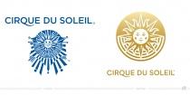 Cirque du Soleil Logo – vorher und nachher