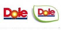 Dole Logo – vorher und nachher