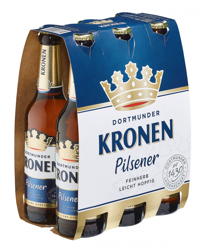 Dortmunder Kronen Gebinde, Quelle: Radeberger Gruppe