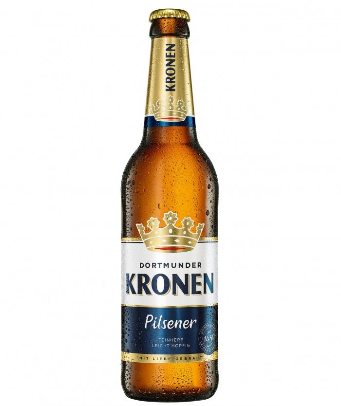Dortmunder Kronen Pilsener, Quelle: Radeberger Gruppe