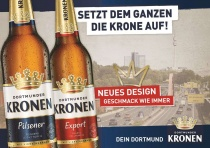 Dortmunder Kronen Werbung, Quelle: Radeberger Gruppe