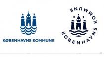 Stadt Kopenhagen Logo – vorher und nachher