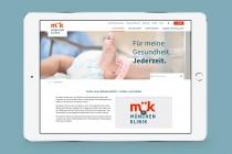 München Klinik Website, Quelle: Zeichen und Wunder
