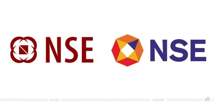 NSE Logo – vorher und nachher