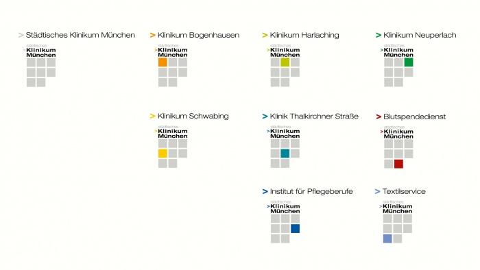 Städtisches Klinikum München Corporate Design, Quelle: wpgh