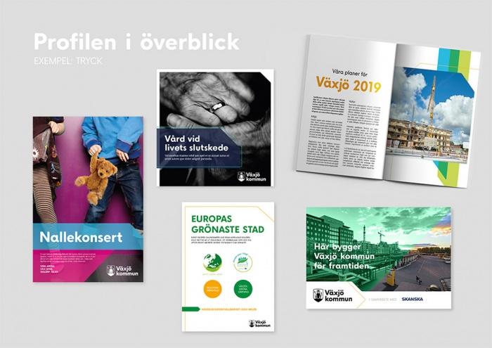 Växjö Corporate Design, Quelle: Stadtverwaltung Växjö