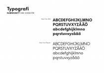 Typographie – Växjö Now, Quelle: Stadtverwaltung Växjö