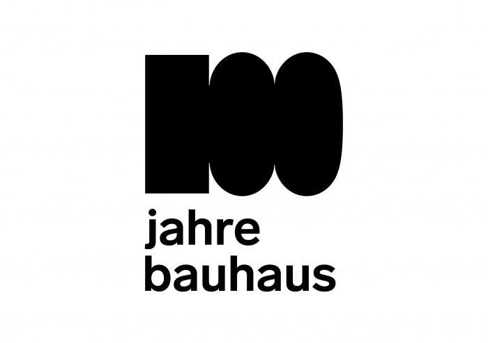100 Jahre Bauhaus – Logo