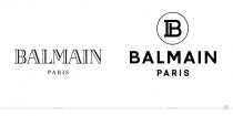 Balmain Logo – vorher und nachher