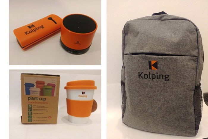 Kolping – Corporate Design Merchandising, Quelle: Kolpingwerk Deutschland