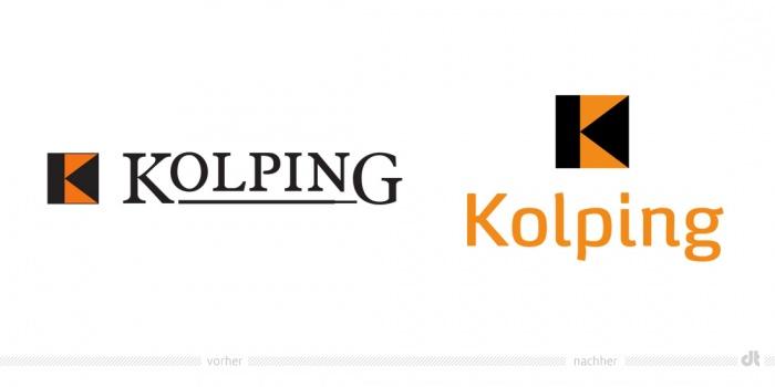 Kolping Logo – vorher und nachher