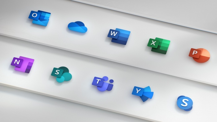 Microsoft Office Icons, Quelle: Microsoft