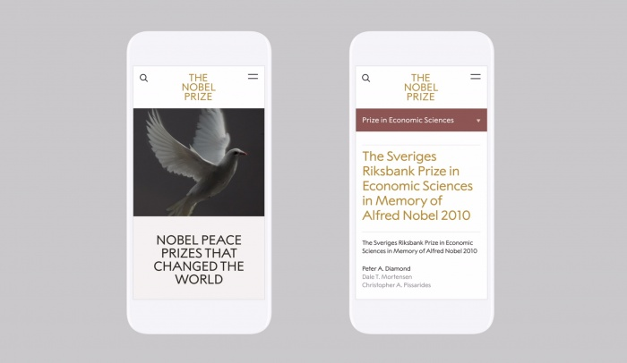 The Nobel Prize – App, Quelle: stockholmdesignlab