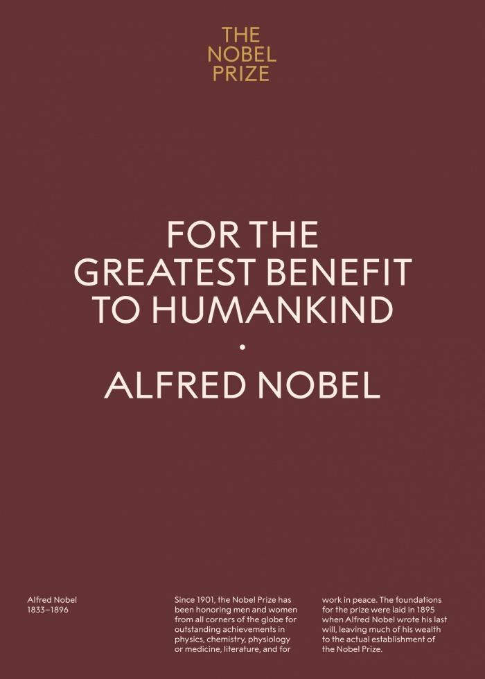 The Nobel Prize – Visual Identity, Quelle: stockholmdesignlab
