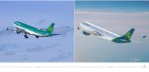 Aer Lingus Livery – vorher und nachher