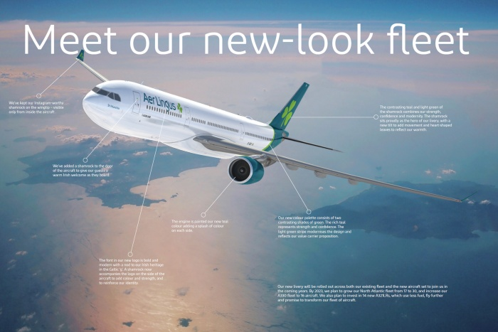 Aer Lingus – meet our new look, Quelle: Aer Lingus