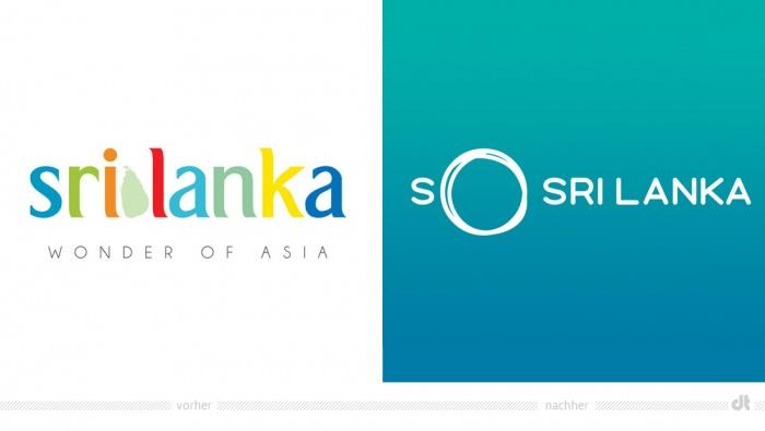 Sri Lanka Travel Logo – vorher und nachher