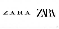 Zara Logo – vorher und nachher