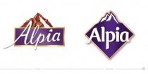 Alpia Logo – vorher und nachher
