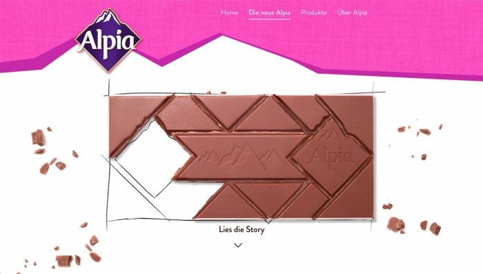 Alpia – die neue Form, Quelle: Stollwerck